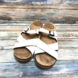 [Dansko] white Sela sandals #920
